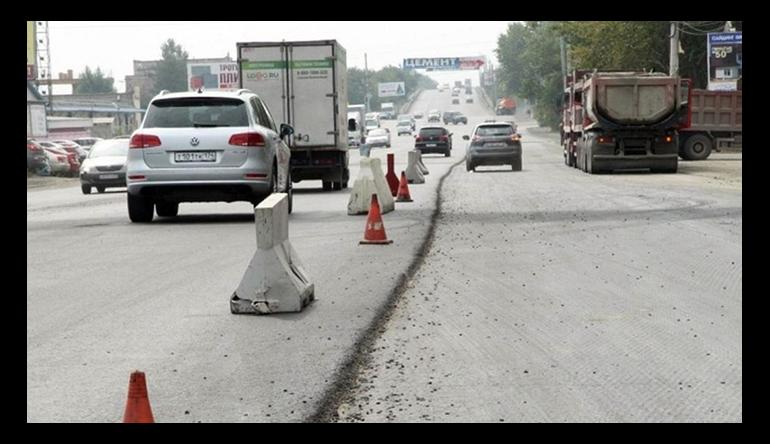 В Челябинске подсчитали площадь дорог, отремонтированных в 2017 году