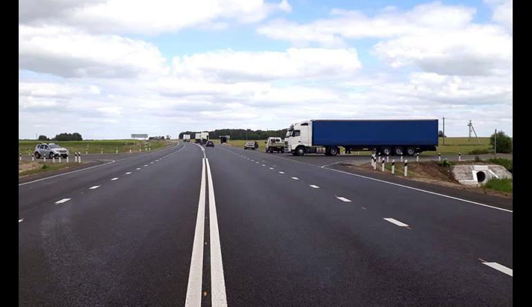 В Калужской области отремонтировали более 50 км трассы Р-132