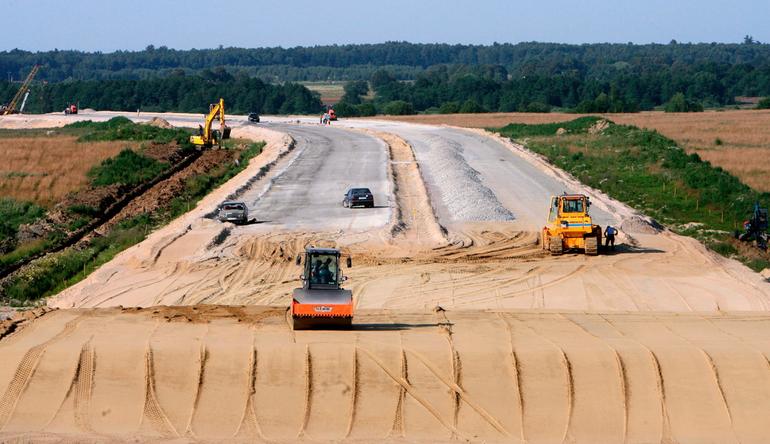 Дорога от Боровского шоссе до деревни Ботаково будет готова в июне
