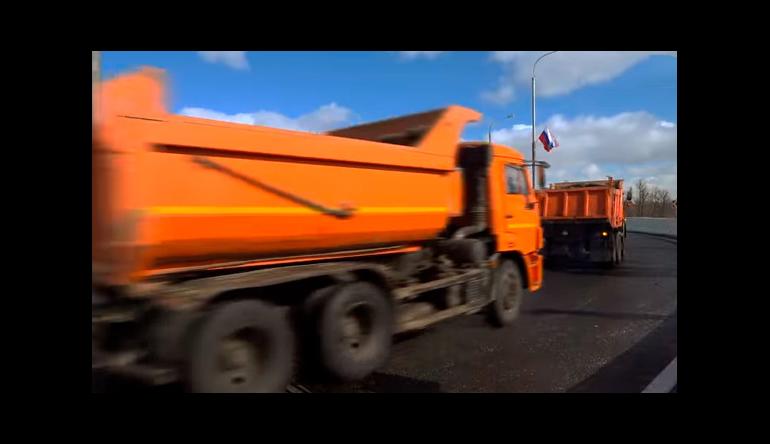 С начала года в Москве проложено 11 км новых дорог