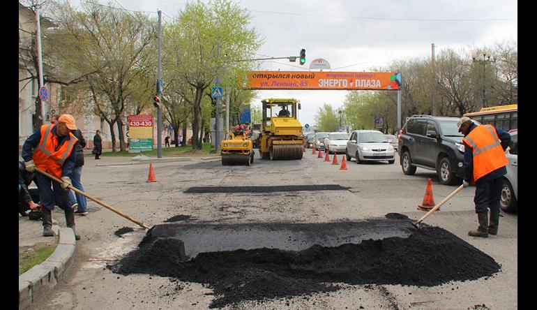 Реконструкция улицы Тихоокеанской в Хабаровске начнется в 2018 году