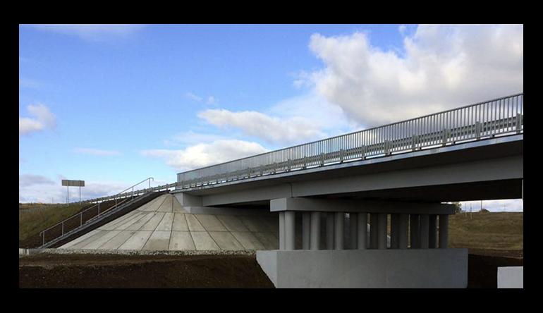 Сдан в экплуатацию моста через реку Алнашка