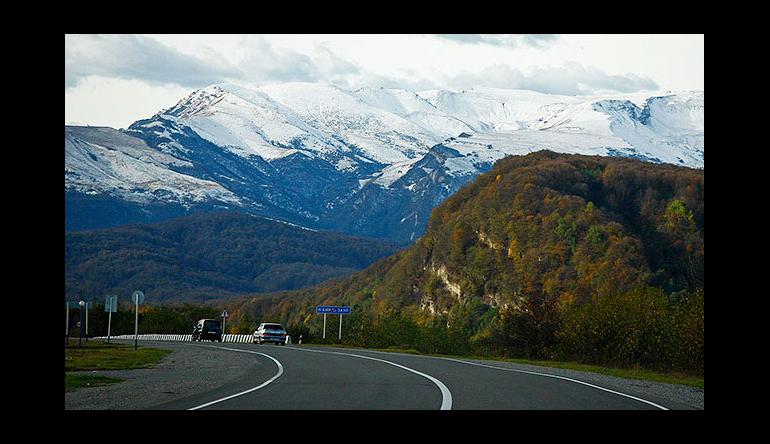 В регионах северного Кавказа обновили 370 км дорог за год