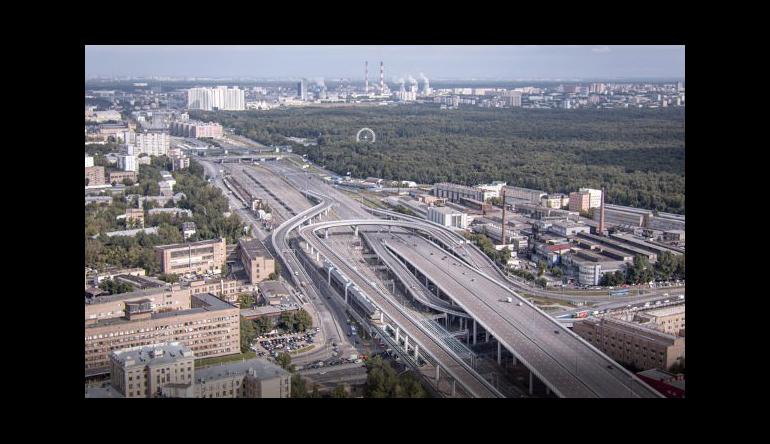 Рекорды дорожного строительства Москвы в 2017 году