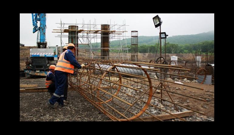 Три новых моста возводят строители трассы Владивосток–Порт Восточный