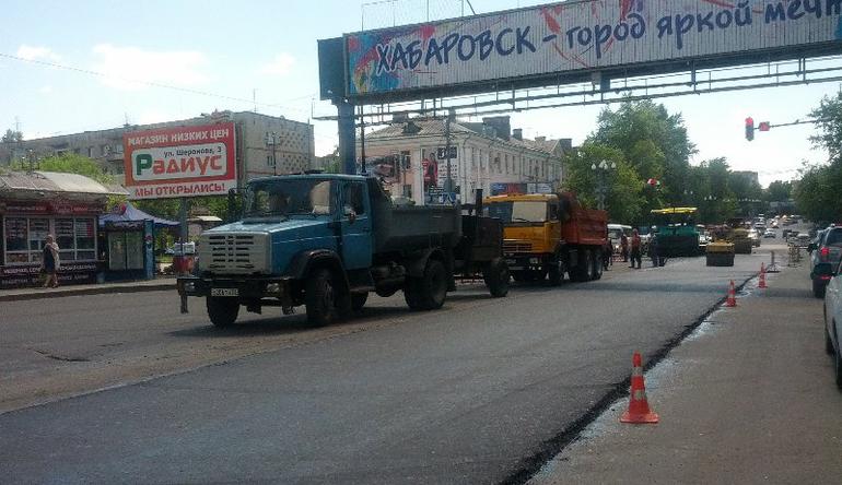 Новые дороги Хабаровска