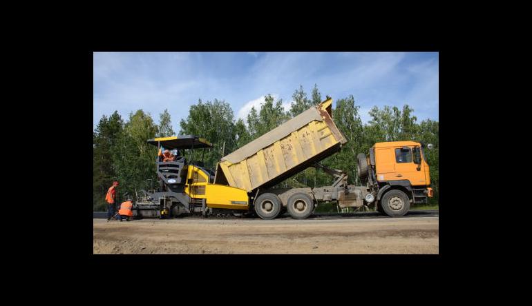 Начат капитальный ремонт трассы Р-255 Сибирь