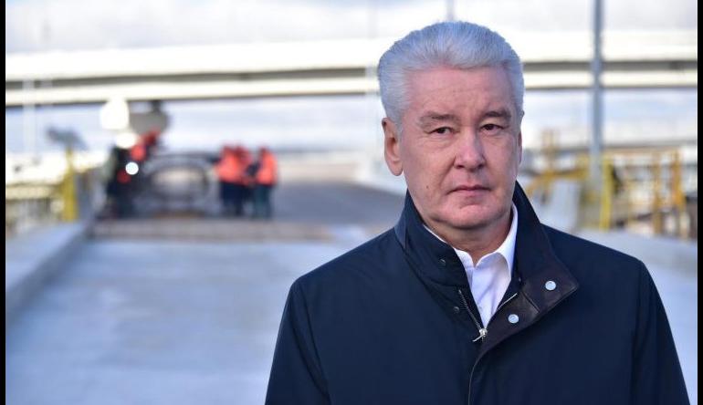 Собянин: длина дорог Москвы увеличилась свыше 15% за 7 лет